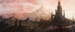 Towers of the Crags by maelboxx