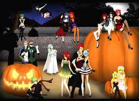 Bleach oc - Halloween 2012 by FlyingDragon04