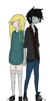 Marshall lee and fiona basic by Pistachi