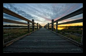 Sunset On the Boardwalk by WiDoWm4k3r