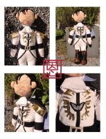 M.Bison / Vega - Alternate costume plush by Shadaloo1989