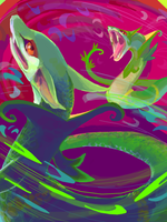 Serperior VS Serperior by Lollergator
