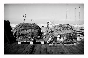 Fishing Nets - Jaffa by thelizardking25
