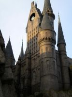 Hogwarts Towers by whitelotus92
