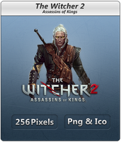 The Witcher 2 - Icon by Crussong