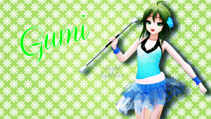 [MMD] Gumi Latin Cyan by NightLightStar01