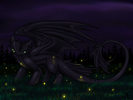 Dancing Lights and Dark Nights by eagle-flyte
