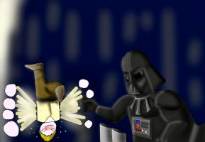 Vader Finds Luke's Lack of Education Disturbing by RomanKanden