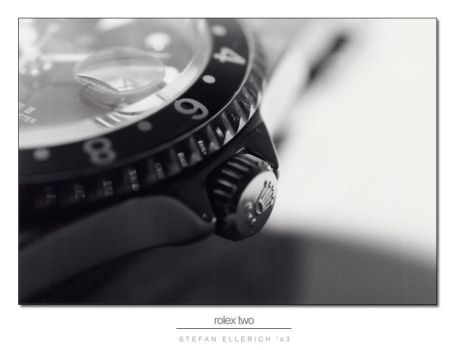 Rolex Part Two by cybadelic