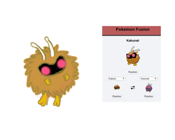 Pokefusion Doodle: Kabunat by SNlCKERS