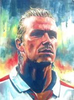 Beckham portrait by aaronwty
