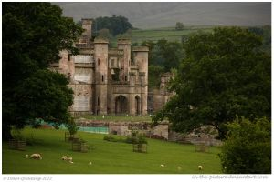 Lowther Castle by In-the-picture