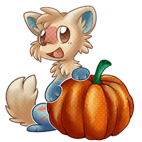 Sandy Pumpkin Loves by Nestly