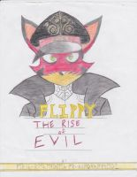 Flippy: The Rise of EVIL cover (Finished) by knoxskorner01