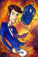 Doctor Who by CorinneRoberts