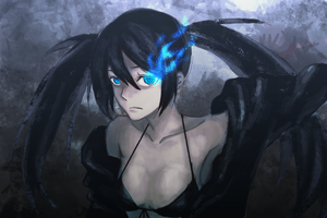 Black Rock Shooter by slyvanie