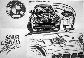 LAtest BMW car desigN exterior2 by artsoni