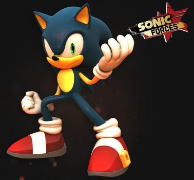 Sonic Forces 3D by sonicmechaomega999