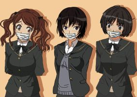 amagami SS DID by Drachirus