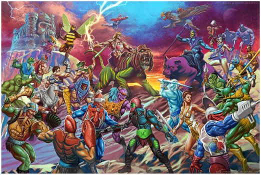Masters Of The Universe by Valzonline