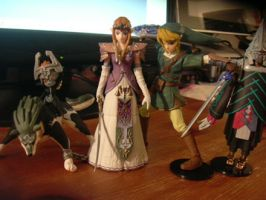 Twilight Princess Figurines by ChibiRed