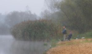 Fishing in the fog by starykocur