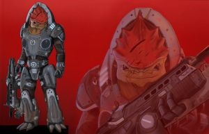 Marcus Wrex by spaceMAXmarine