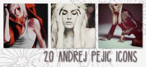 Icons: Andrej Pejic set1 by Mariesen