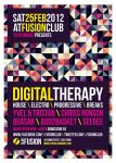 Minimal Colourful Party Flyer by RedEffect7