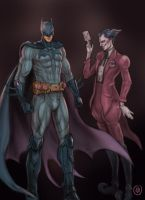 Zubatman and Mimer by jaeon009