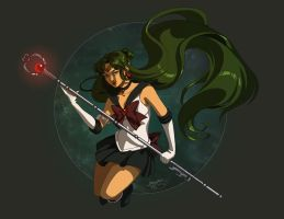 Sailor Pluto by shideh