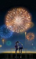 Firework Kisses by Maria-Hence14