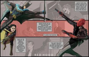 The Dark Knight Trilogy Epilogue:  Red Hood by kinjamin