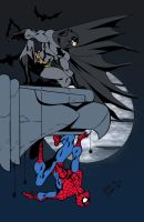 Batman and Spider-Man by Lobo777 by edCOM02