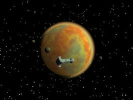 The Red Planet by HairBrainedScenes