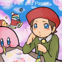 080 - Pen and Paper by Mikoto-Tsuki