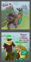 LoL- Based on a true story by Albaharu
