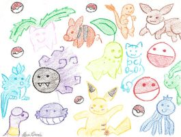 Look At My Pokemanz by Lexi247