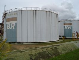 oil tank by RenathaGomes-Stock