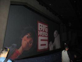 Big Hero 6 Screen by montey4