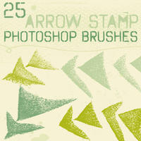 arrow stamp brushes by chokingonstatic