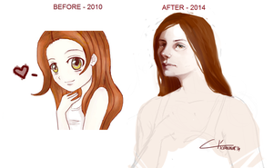 Before/after by InvaderLi
