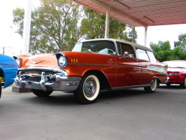 Chevy Bel-Air Wagon by ryanthescooterguy