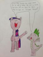 Twilight and Spike Singing the Sesame Street Theme by nintendolover2010