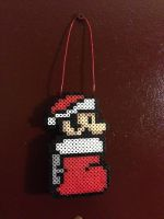 Christmas Boot Mario by CGB-Designs
