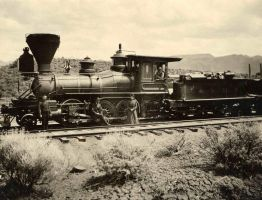 Virginia and Truckee Railroad No.4 Virginia by GundamMech101