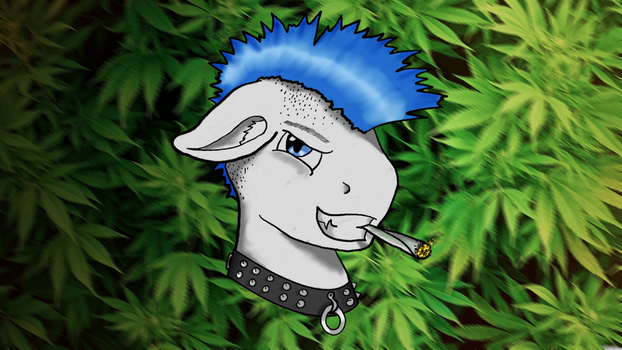 Lecblade weed wallpaper by lec-the-wolf