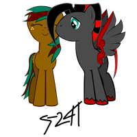 HeartFire and Kessie by SUBJECT-241