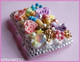 Blackberry Storm Custom Case by bitterSWEETones