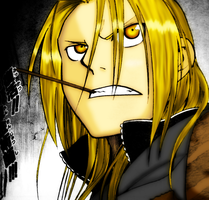 Ed Elric - BadASS by Wolfs-Angel17